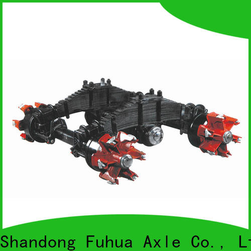 FUSAI factory directly supply trailer bogie purchase online for importer