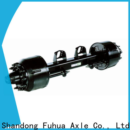 China braked trailer axles factory for aftermarket