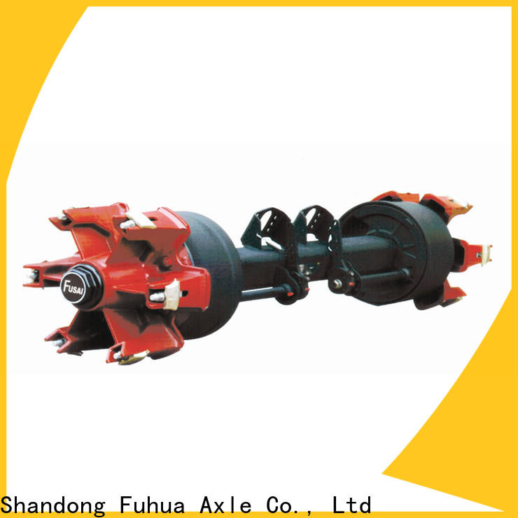 FUSAI types of trailer axles trader for sale