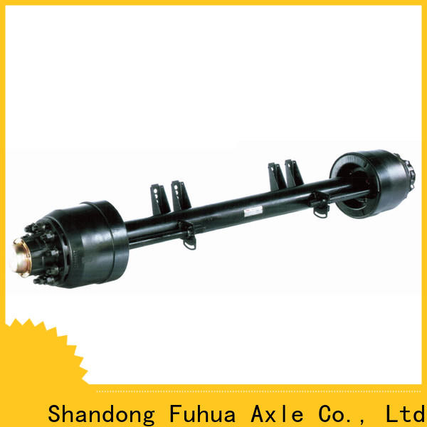 FUSAI top quality small trailer axle factory for sale