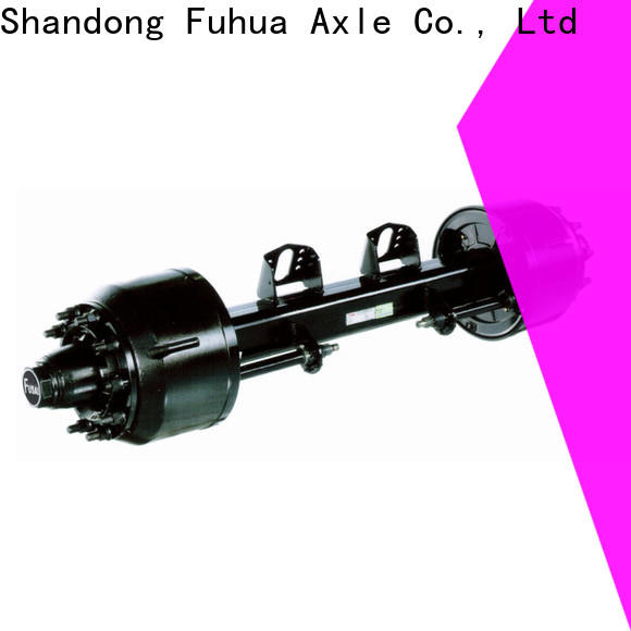 FUSAI types of trailer axles trader for truck trailer