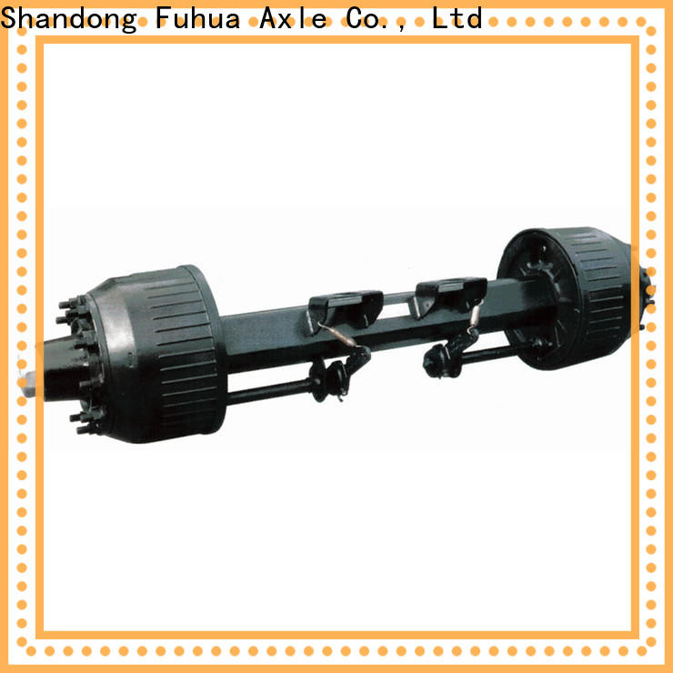 FUSAI braked trailer axles trader for sale