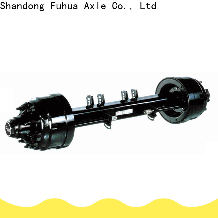 FUSAI new trailer axles trader for importer