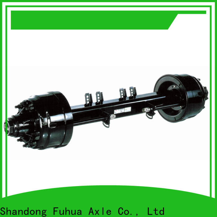 FUSAI competitive price trailer axles manufacturer for importer
