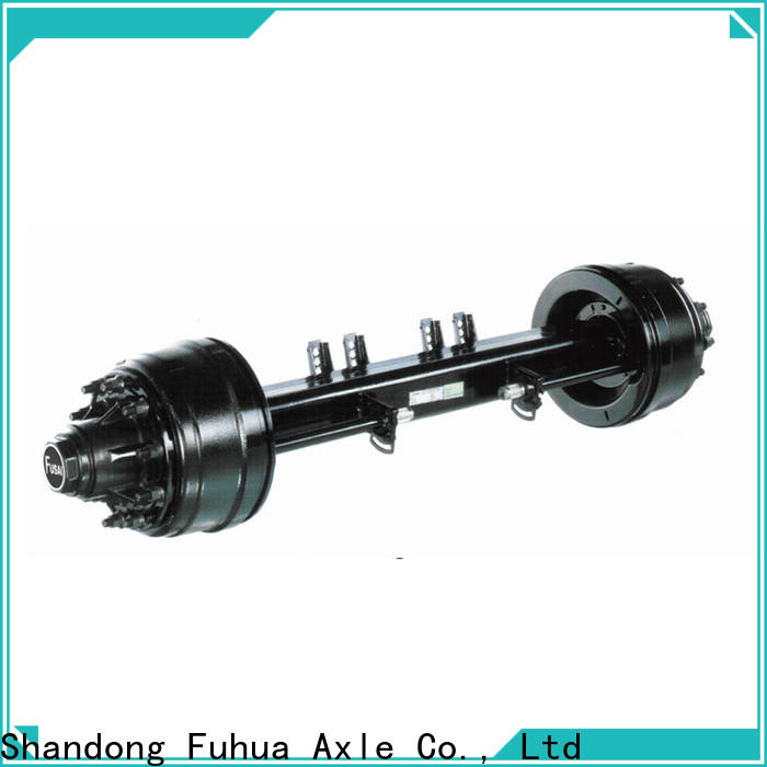 FUSAI top quality small trailer axle manufacturer for sale
