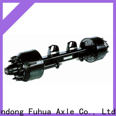 FUSAI China types of trailer axles manufacturer for sale
