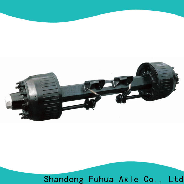 FUSAI braked trailer axles manufacturer