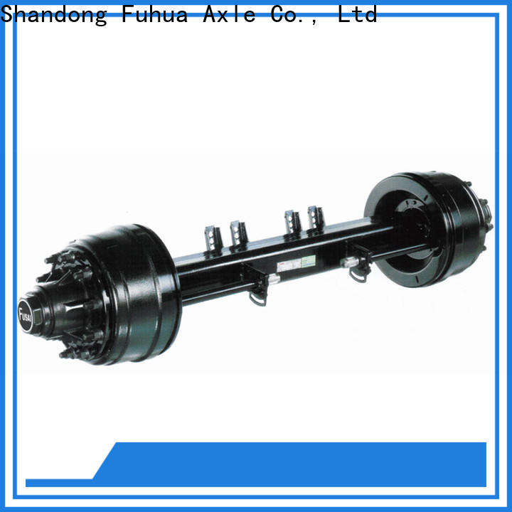 competitive price small trailer axle manufacturer for importer