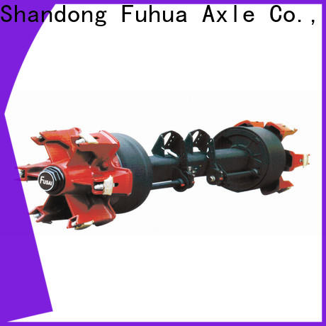 FUSAI trailer axles with brakes manufacturer for sale