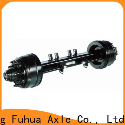 FUSAI small trailer axle factory for importer