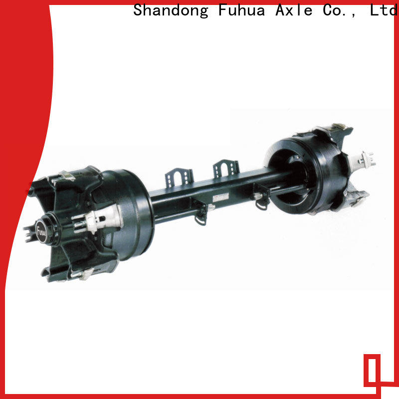 FUSAI competitive price small trailer axle manufacturer for wholesale