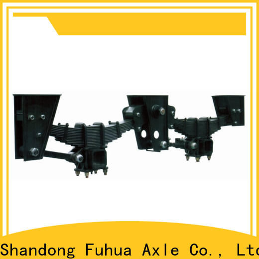 FUSAI independent trailer suspension from China for dealer
