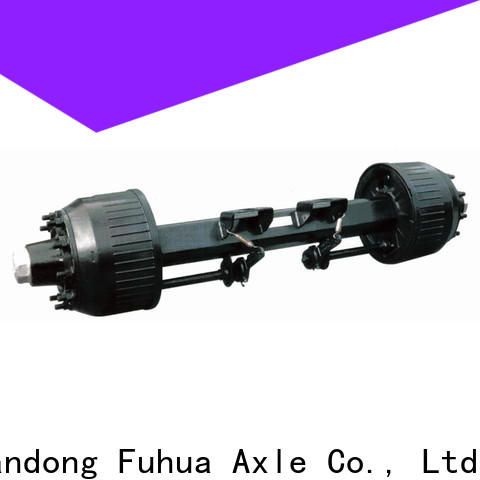 FUSAI braked trailer axles factory