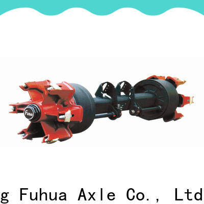 FUSAI drum axle trader for truck trailer