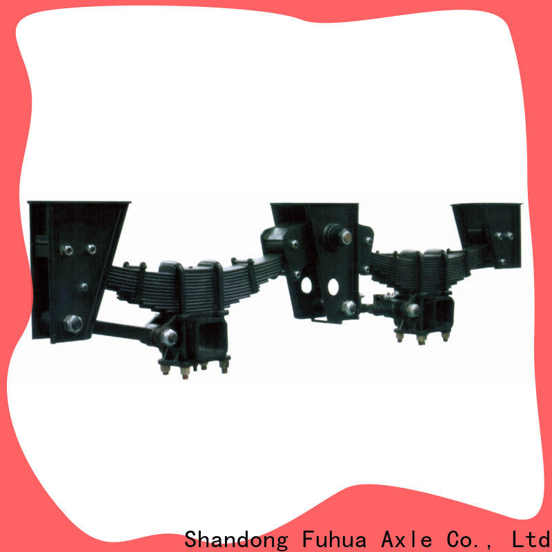FUSAI independent trailer suspension from China for businessman