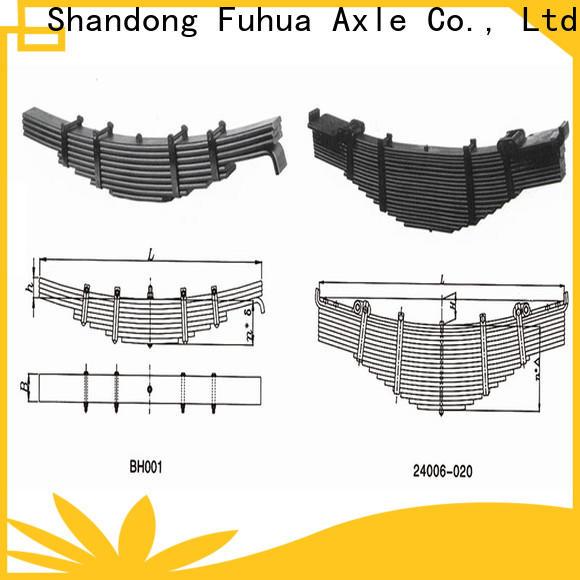 high quality trailer leaf springs supplier