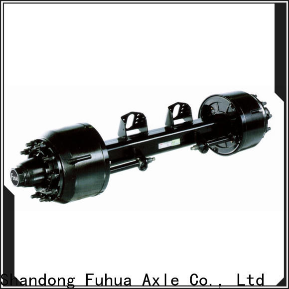 FUSAI braked trailer axles from China