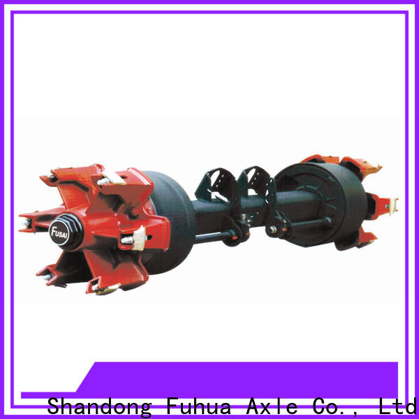 FUSAI types of trailer axles supplier