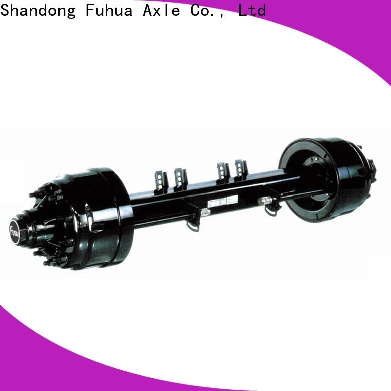 FUSAI high quality small trailer axle from China