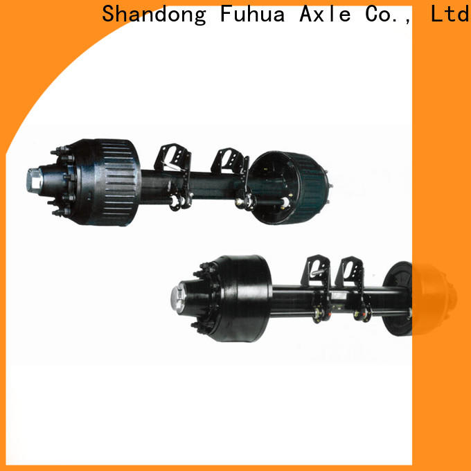 custom types of trailer axles from China