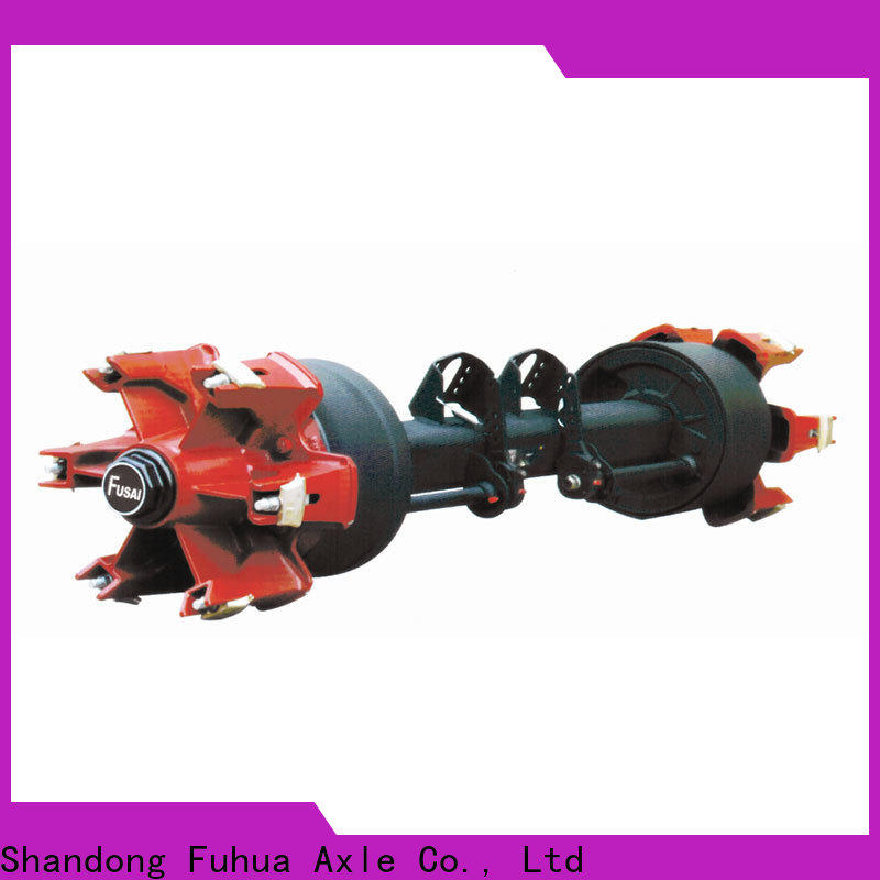 FUSAI braked trailer axles supplier