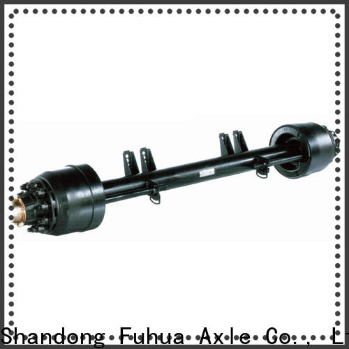 low moq small trailer axle supplier