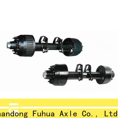 FUSAI trailer axles with brakes supplier