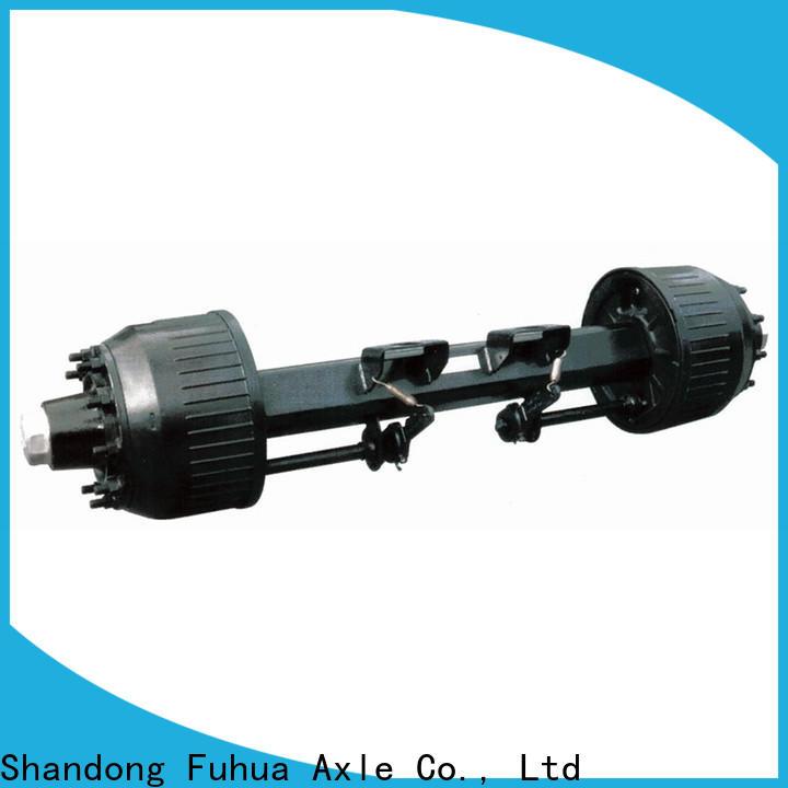 custom types of trailer axles wholesale