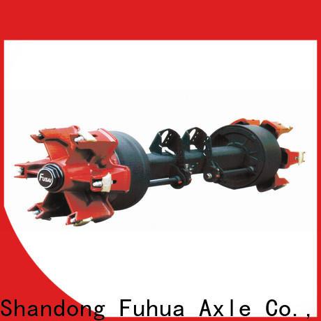 FUSAI premium option trailer axles with brakes supplier