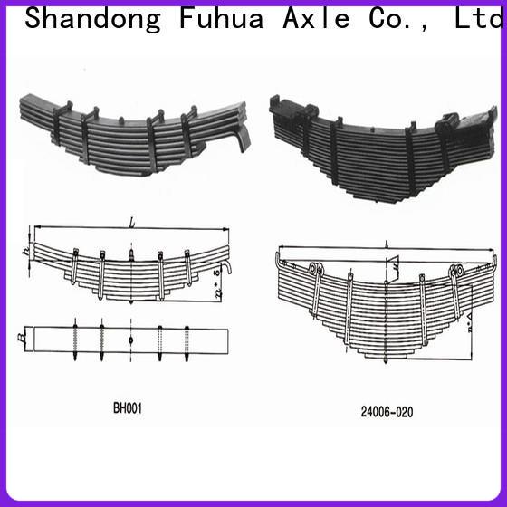 FUSAI trailer springs manufacturer