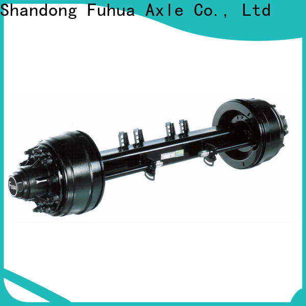 low moq small trailer axle manufacturer