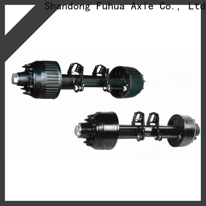 FUSAI trailer axles with brakes from China