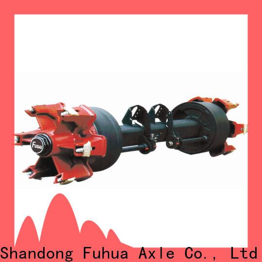 FUSAI braked trailer axles manufacturer