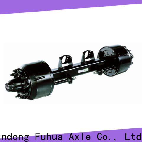 FUSAI high quality braked trailer axles wholesale