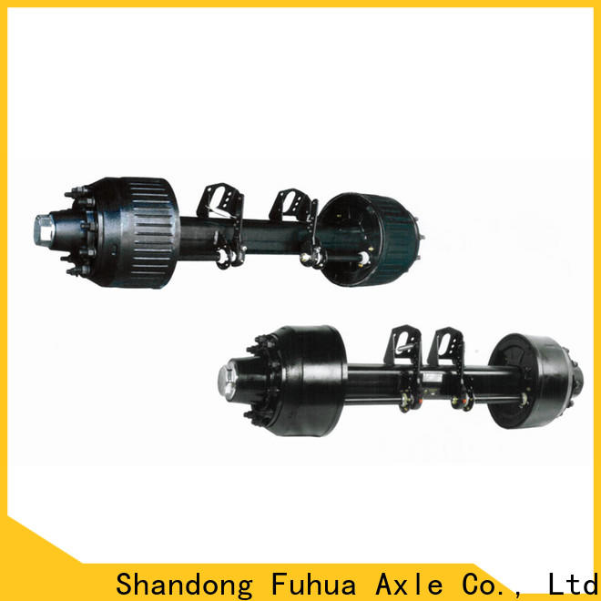 high quality trailer axles with brakes 5 star service