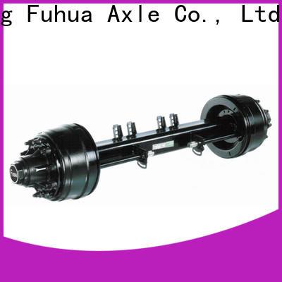 FUSAI perfect design small trailer axle supplier