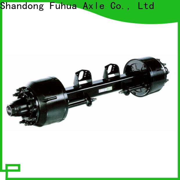 custom trailer axles with brakes manufacturer