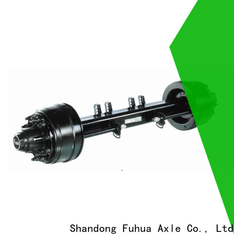 FUSAI premium option trailer axles 5 star service