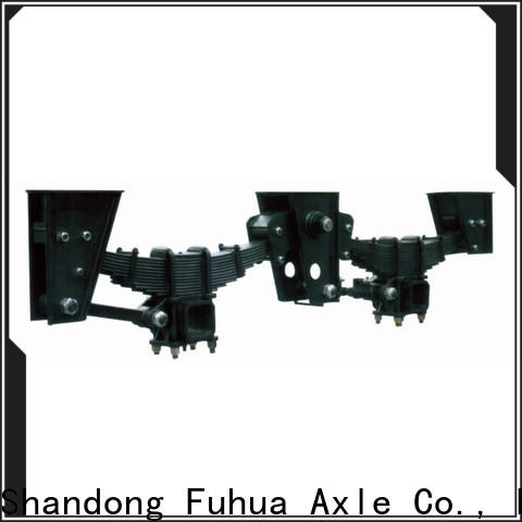 high quality trailer air suspension manufacturer
