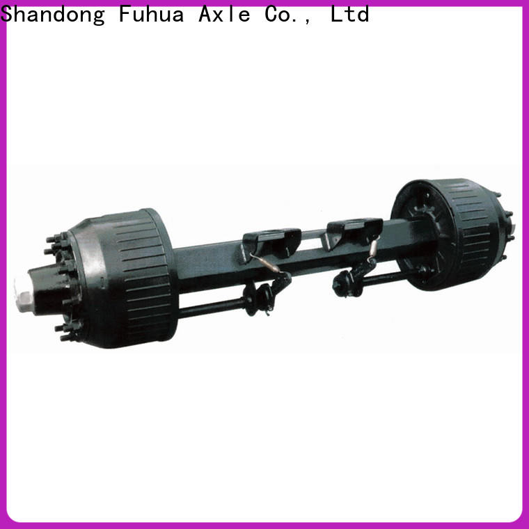 FUSAI custom trailer axles with brakes 5 star service