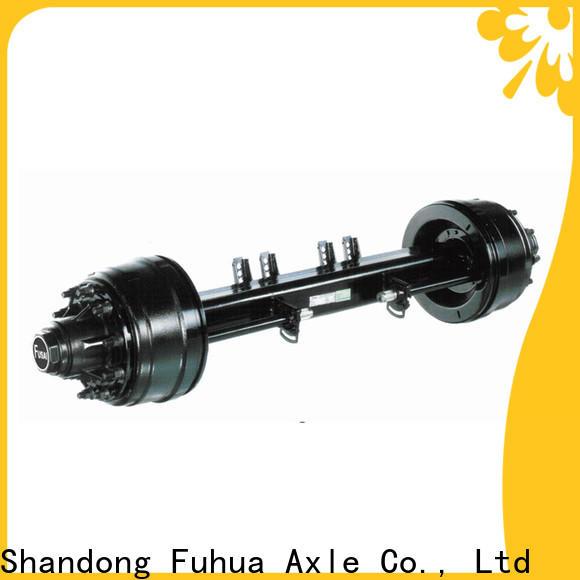 FUSAI perfect design small trailer axle manufacturer