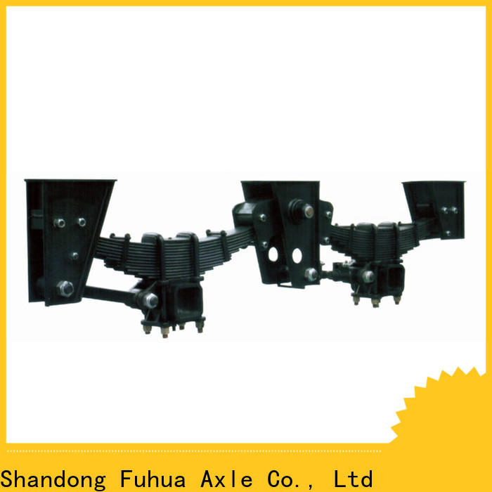 FUSAI premium option independent trailer suspension wholesale