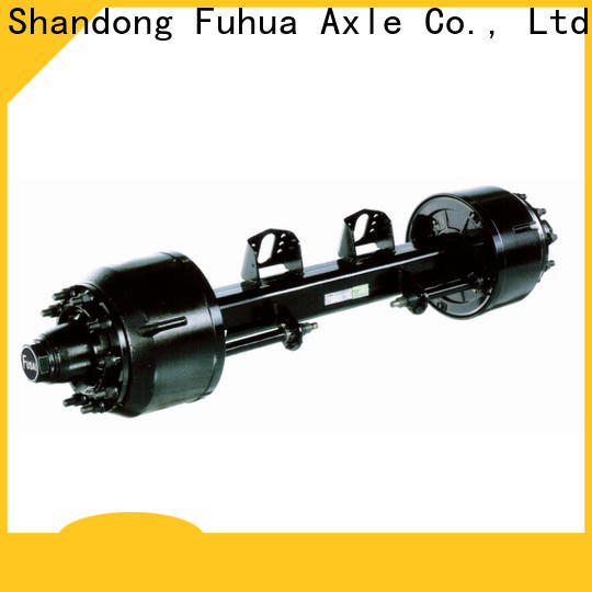 FUSAI trailer axles with brakes 5 star service