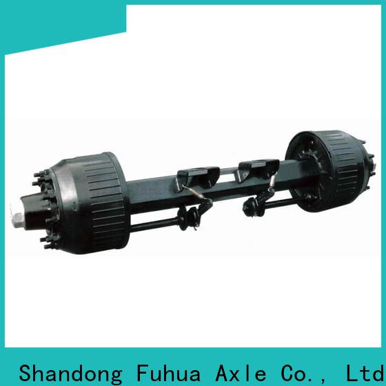 FUSAI braked trailer axles 5 star service