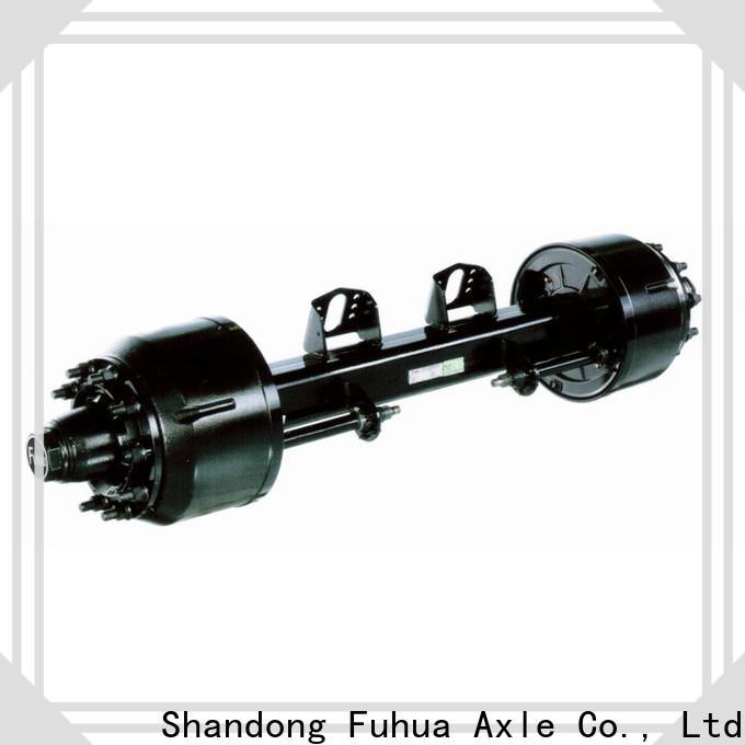 custom braked trailer axles wholesale