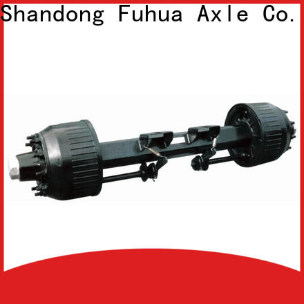 FUSAI oem odm trailer axles with brakes from China