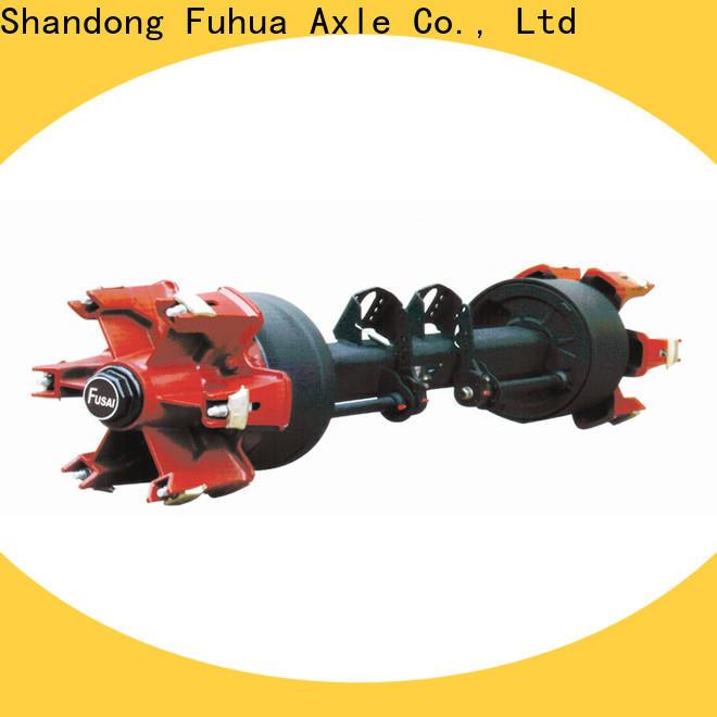 FUSAI trailer axles with brakes manufacturer