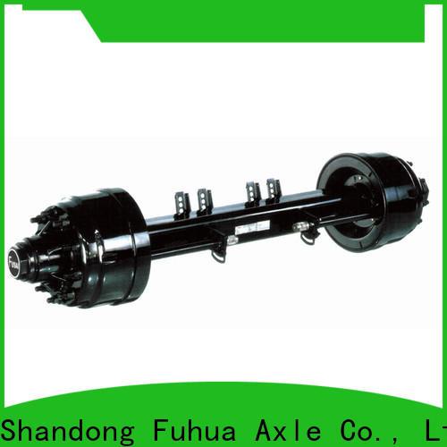 FUSAI perfect design trailer axle parts manufacturer