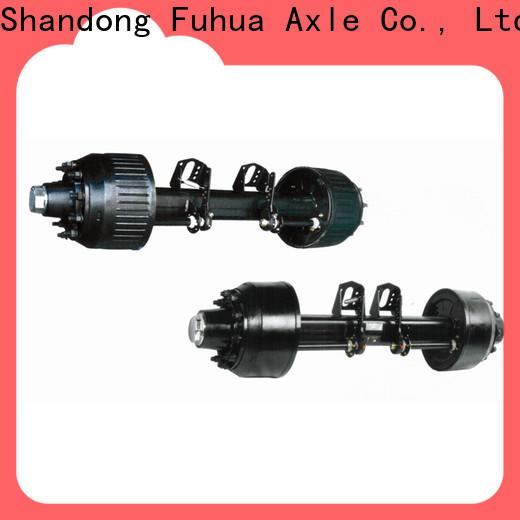 FUSAI low moq types of trailer axles manufacturer