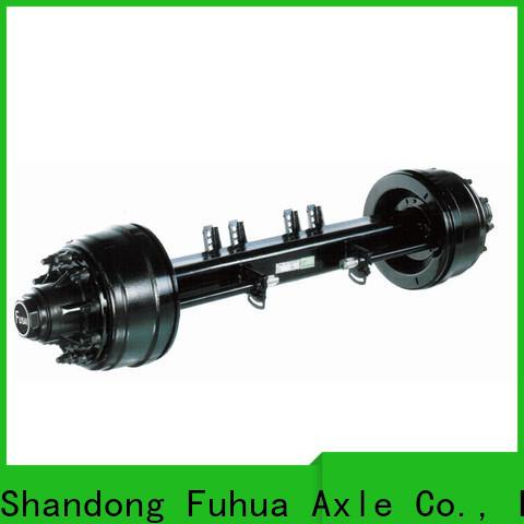 FUSAI custom trailer axle parts from China
